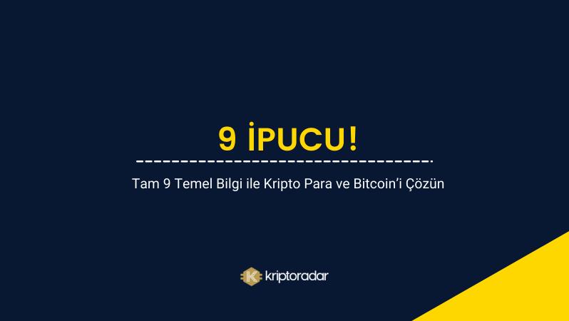 9 Soruda Bitcoin'i ve Kripto Parayı Anlama Kılavuzu