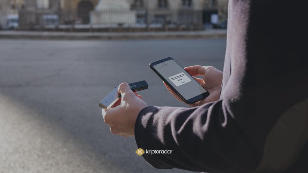Ledger Nano X Taşınabilir Kripto Para Cüzdanı