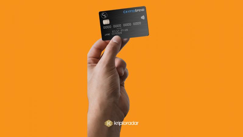 CryptoSpend için Bitcoin harcama kartı