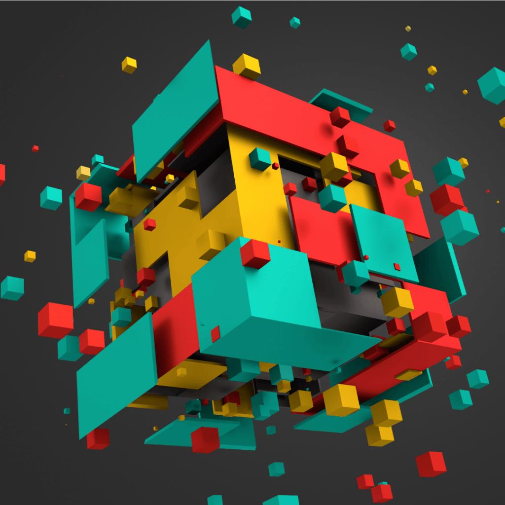 Blok Zinciri 3D Görüntüsü, Temsili