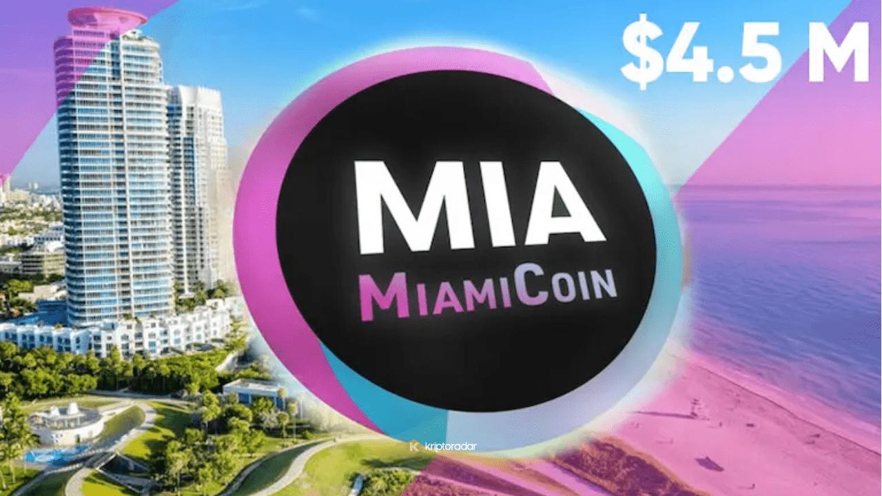 Miami Komiserleri MiamiCoin'de 4.5 Milyon Dolar Çekmek İstiyor