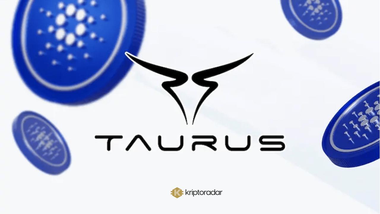 Dijital Varlıklar Firması Taurus, Stake Yetenekleri Dahil, Cardano'yu Entegre Ediyor