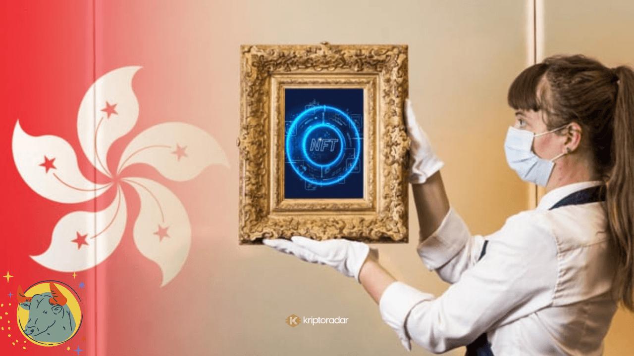 Hong Kong'daki Sanat Müzayedelerinde Beklenen Beş NFT Öne Çıktı